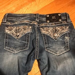 Miss Me Size 26/33 LIKE NEW! Boot Cut